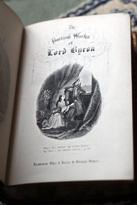 lord byron books