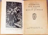 Six Years in the Malay Jungle (1925)