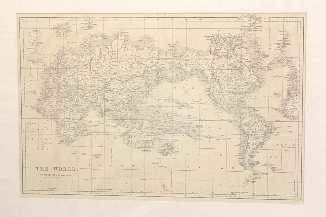World Map S GOHD Books - 1800s world map