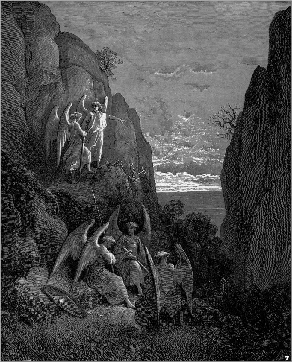Satan Sin And Death Paradise Lost Book: John Milton (1880)