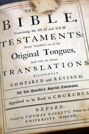 The Holy Bible 1761 Gohd Books