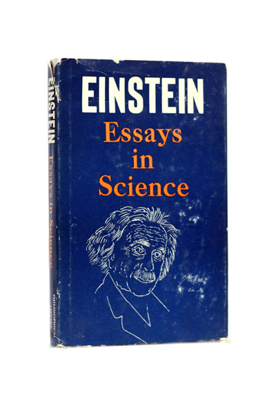 Einsteins Essays In Science  St Ed  Gohd Books Einsteins Essays In Science  St Ed
