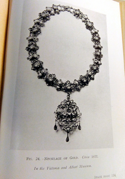 Antique Jewellery And Trinkets Fred W Burgess 1919 1st Ed